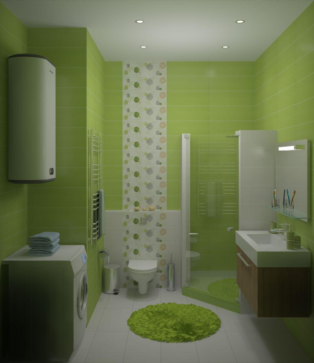 Дизайн кафельной плитки в ванной: Душевая кабина своими руками из кафельной плитки, фото-отчет