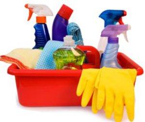 Химические средства для чистки ванной комнаты