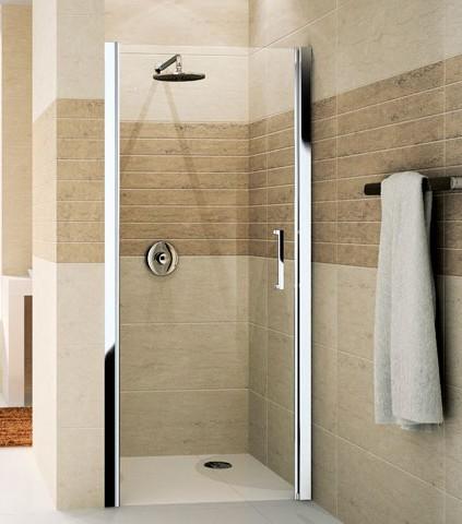 Душ для бежевой ванной комнаты