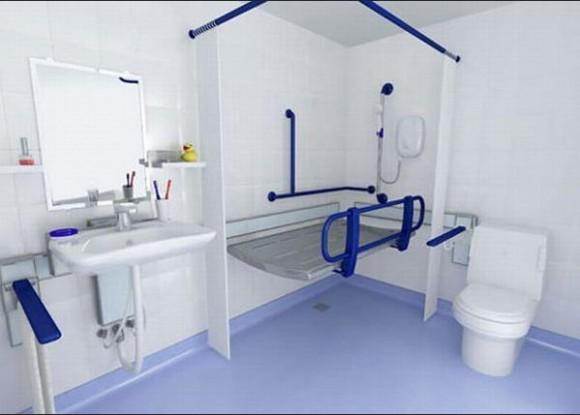 Ванная комната для пожилых людей