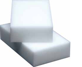 Белые меламиновые губки для очищения любых поверхностей