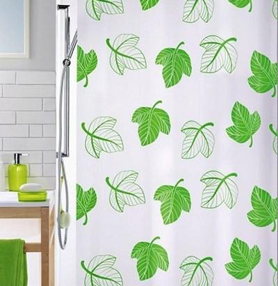 Ванна с растительными мотивами в оформлении