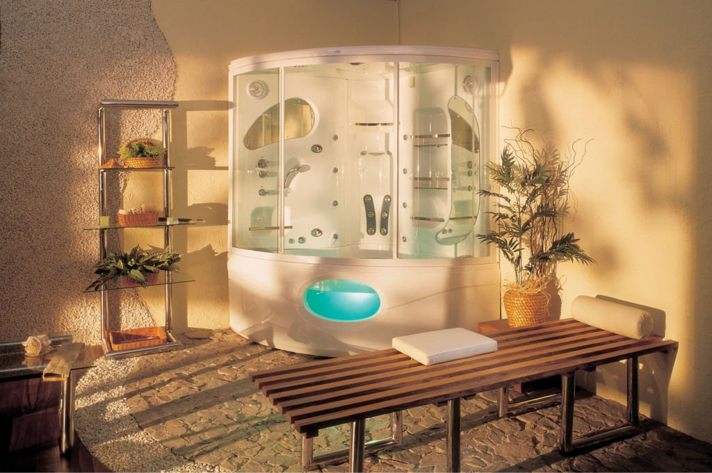 Ванная комната в стиле спа-салона