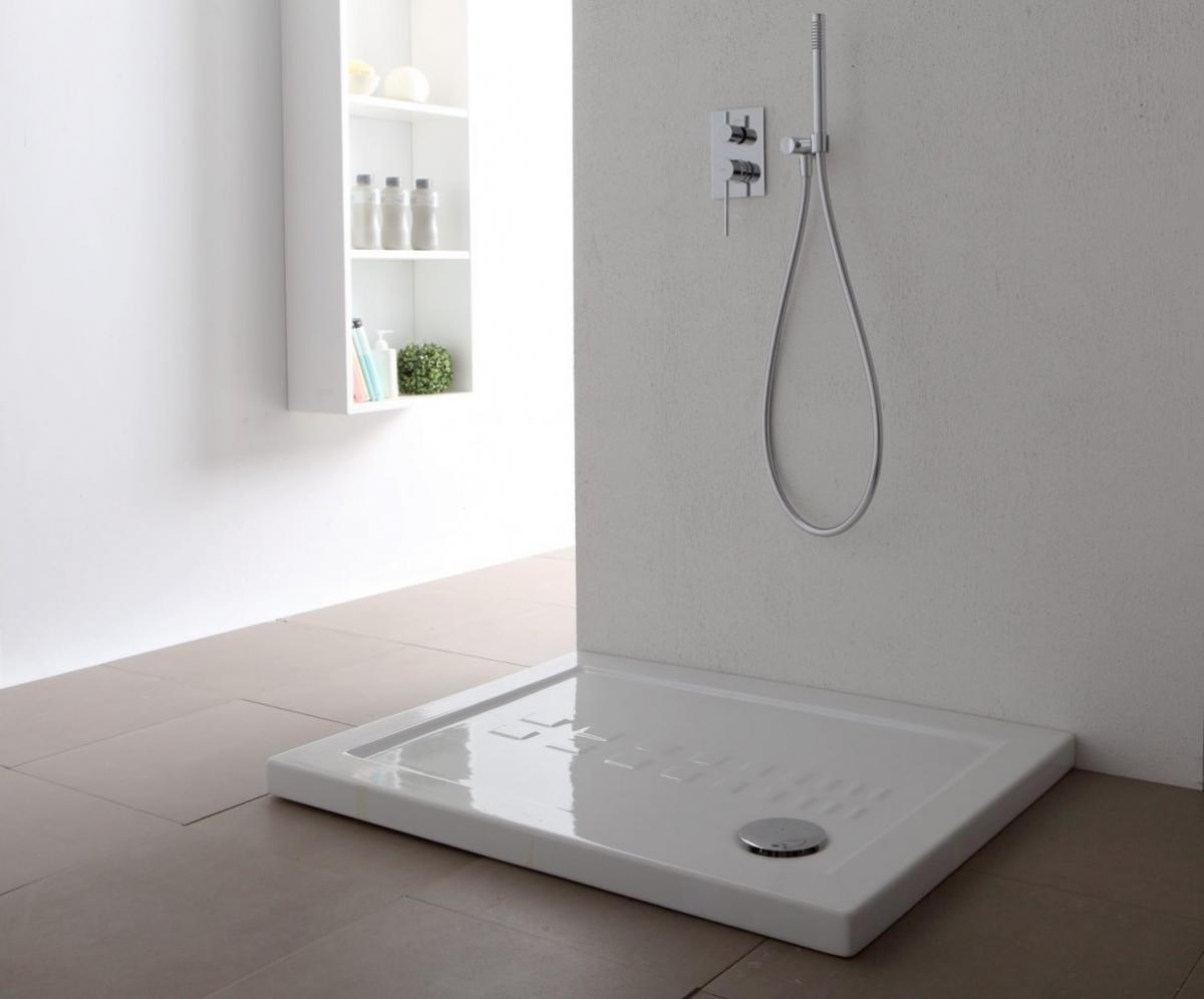 Ванная комната, выдержанная в минималистическом стиле