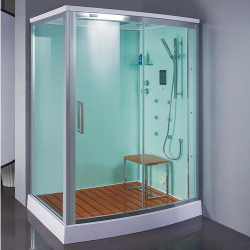Ванная комната со стенами серого цвета