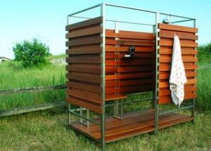 Удобный душ для дачи